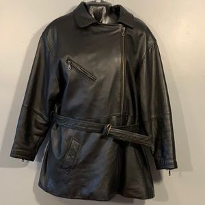 Tannery West Leather Jacket MOTORCYCLE WOMEN'S